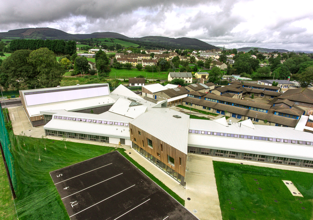 St Anne's Community College aerial shot