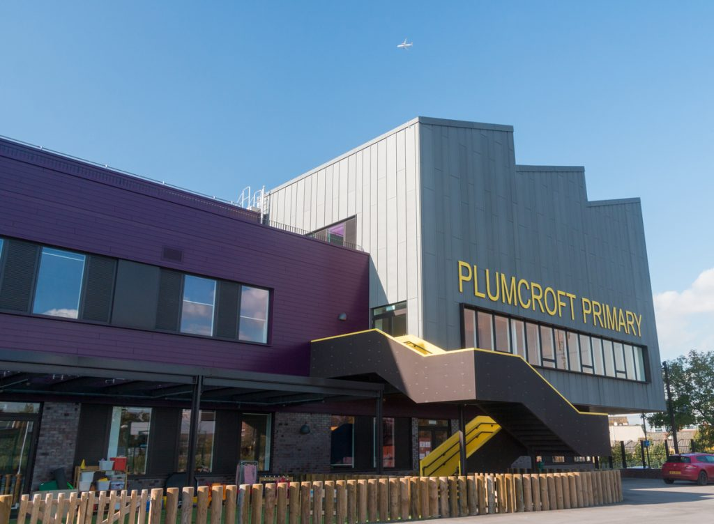 Plumcroft Primary won Project of the Year - Schools at the Education Estates awards