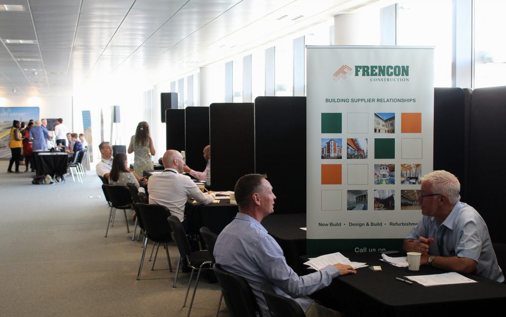 Brendan Reynolds, our Pre-Construction Director, had the opportunity to speak with a wide range of suppliers.