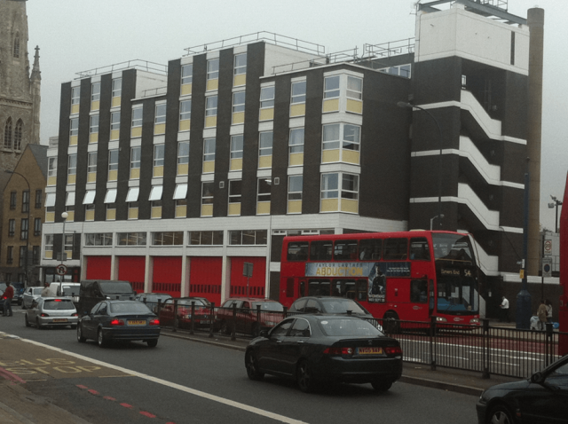 Lewisham Fire Station Refurbishment