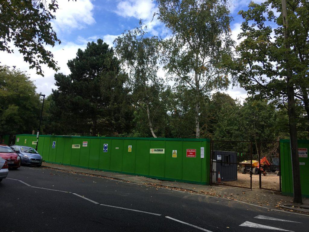 Enabling works and demolition near completion at Beaumont Rise site